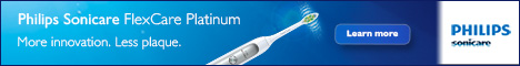 Get Philips Sonicare Electric Toothbrush here